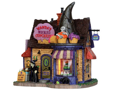55915 - Wanda's Wicked Cupcakes - Lemax Spooky Town Houses