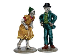 62422 - Skeleton Jig, Set of 2 - Lemax Spooky Town Figurines