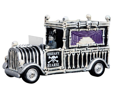 63266 - Hearse of Bones - Lemax Spooky Town Accessories