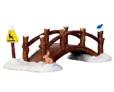 63276 - Split Rail Footbridge - Lemax Table Pieces