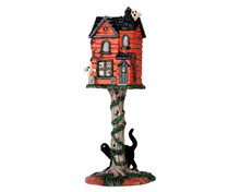 64051 - Haunted Birdhouse - Lemax Spooky Town Accessories