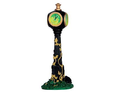 64052 - Creepy Clock - Lemax Spooky Town Accessories
