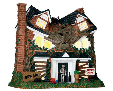 65076 - Monster on Maple Street - Lemax Spooky Town Houses