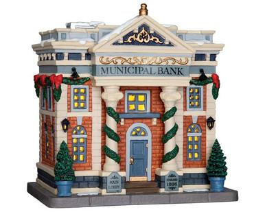 65082 - Municipal Bank - Lemax Caddington Village