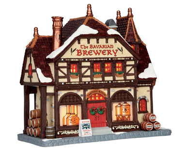 65104 - The Bavarian Brewery - Lemax Caddington Village