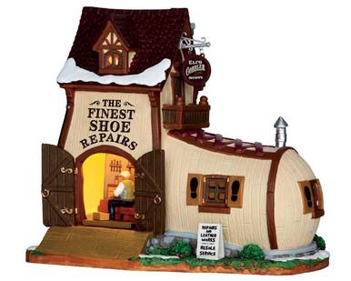65123 - Eli's Cobbler Shoppe - Lemax Caddington Village