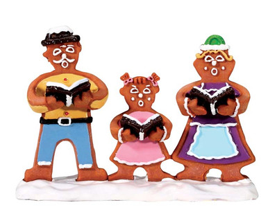 62469 - Gingerbread Carolers - Lemax Sugar N Spice Figurines