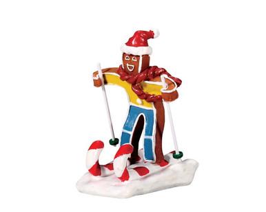 72484 - Candy Cane Skier - Lemax Sugar N Spice Figurines