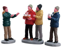 72509 - Cider Service, Set of 3 - Lemax Figurines