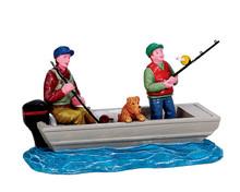 72521 - Family Fishing Trip - Lemax Figurines