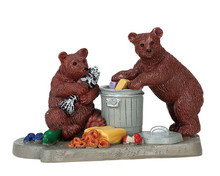 72522 - Bear Buffet - Lemax Figurines