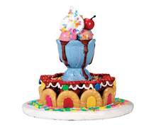 73292 - Sundae Fountain - Lemax Sugar N Spice Accessories