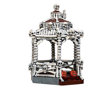 73300 - New Skeleton Gazebo - Lemax Spooky Town Accessories