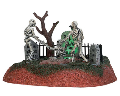 """74203 - """"Long Time No See!"""", Battery-Operated (4.5v) - Lemax Spooky Town Accessories"""