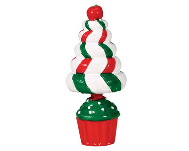 74204 - Peppermint Tree Topiary - Lemax Sugar N Spice Accessories