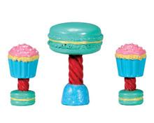 74205 - Dessert Table Set, Set of 3 - Lemax Sugar N Spice Accessories