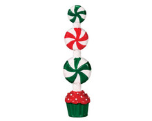 74208 - Peppermint Candy Topiary - Lemax Sugar N Spice Accessories