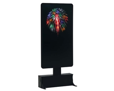 74256 - Multi-Color Fireworks, Battery-Operated (4.5v) - Lemax Landscape