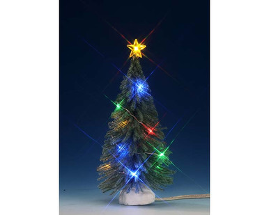 74268 - Multi Light Spruce, Medium, Battery-Operated (4.5v) - Lemax Trees
