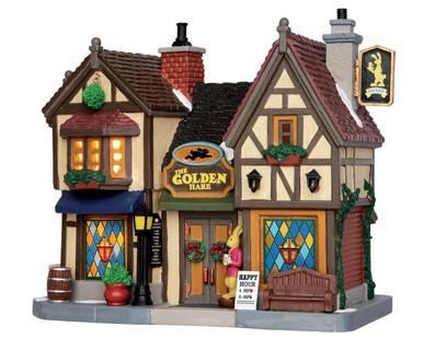 55019 - The Golden Hare Tavern - Lemax Caddington Village