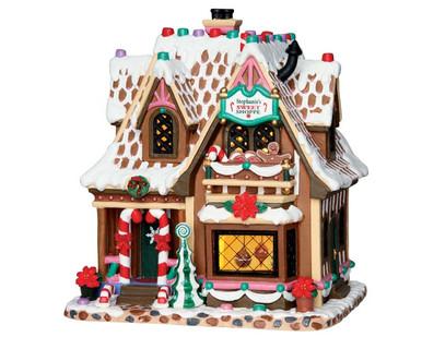 65153 - Stephanie's Sweet Shoppe - Lemax Sugar N Spice Houses