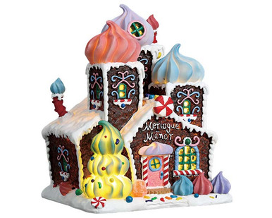 75179 - Meringue Manor, Battery-Operated (4.5v) - Lemax Sugar N Spice Houses