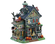 75185 - Creepy Neighborhood House - Lemax Spooky Town Houses