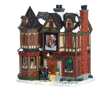 75191 - Scrooge's Manor, with 4.5v Adaptor - Lemax Caddington Village
