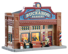 75253 - Little Buckaroo Barbershop - Lemax Jukebox Junction