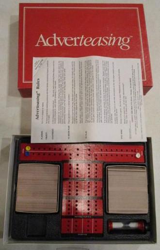 Vintage Board Games - Adverteasing - Cadaco