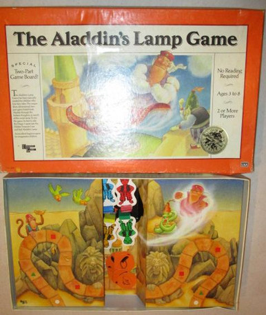 Vintage Board Games - Aladdin's Lamp Game - University Games