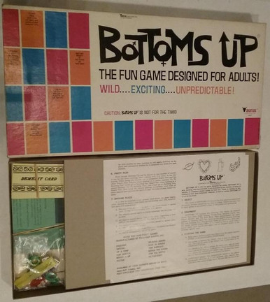 Vintage Board Games - Bottoms Up - Taurus Creations