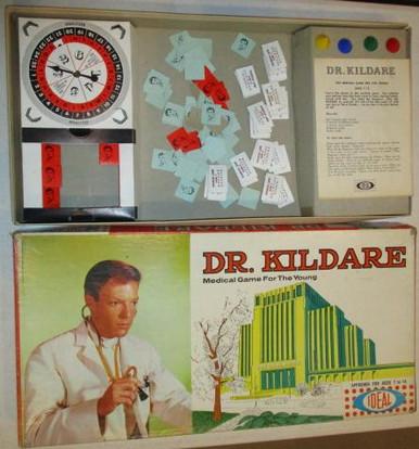 Vintage Board Games - Dr. Kildare - Ideal