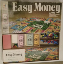 Vintage Board Games - Easy Money - Milton Bradley