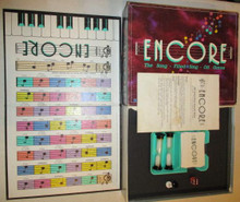 Vintage Board Games - Encore - the Song-Filled Sing-Off Game - Parker Brothers