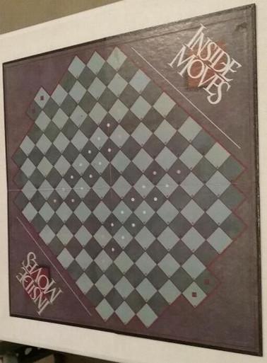 Vintage Board Games - Inside Moves - Parker Brothers