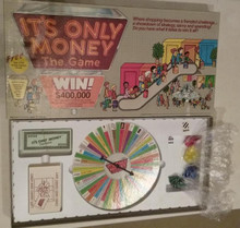 Vintage Board Games - It's Only Money - ESM Marketing