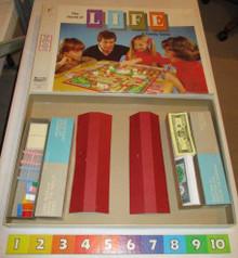 Vintage Board Games - Life - Milton Bradley