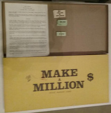 Vintage Board Games - Make a Million - Young-Weeks