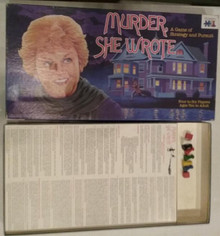 Vintage Board Games - Murder, She Wrote - Warren