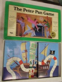 Vintage Board Games - Peter Pan - University Games