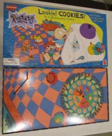 Vintage Board Games - Rugrats Lookie Cookies - Mattel