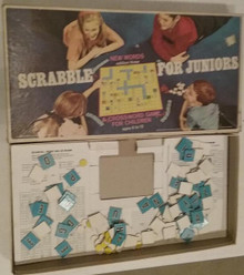 Vintage Board Games - Scrabble for Juniors - Selchow & Righter