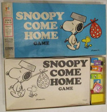 Vintage Board Games - Snoopy Come Home - Milton Bradley