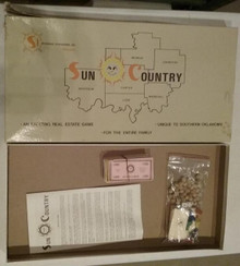 Vintage Board Games - Sun Country - Heritage Press