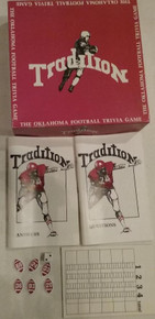 Vintage Board Games - Tradition - OU Football Trivia Game - Tradition Sports