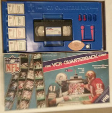 Vintage Board Games - VCR Quarterback Game - Interactive VCR Games, Inc.