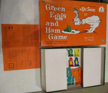 Vintage Board Games - Green Eggs & Ham - University Games