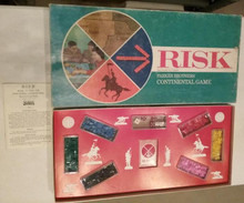 Vintage Board Games - Risk - Parker Brothers