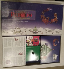 Vintage Board Games - Rudolph the Red-Nosed Reindeer - Gameplan